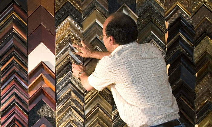 The Great Frame Up - Hollywood Hills: $39 for $120 Toward Custom Framing at The Great Frame Up