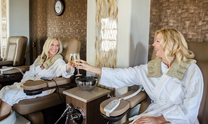 Well & Being Spa – Fairmont Scottsdale Princess - Sonoran: Desert Seasons Pedicure with Lunch and a Glass of Wine at   Well & Being Spa – Fairmont Scottsdale Princess (Up to 32% Off)