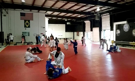 One, Two, or Three Months of Brazilian Jujitsu Classes for for Kids at JG MMA and Fitness Academy (Up to 78% Off)