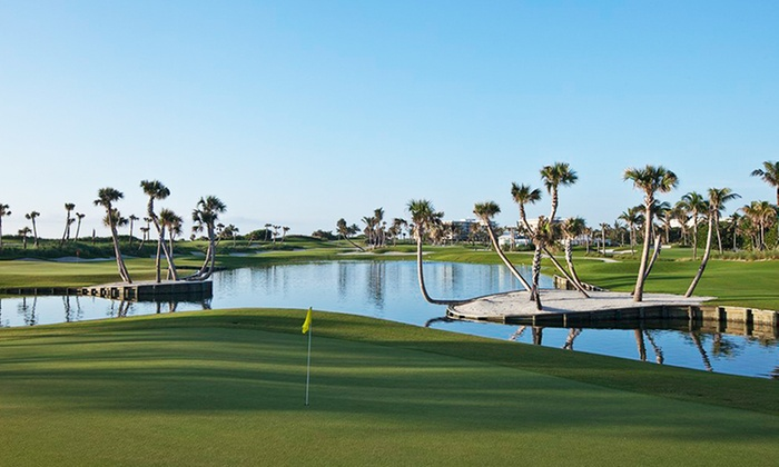 Palm Beach Par 3 - Palm Beach Par 3: One Round of Golf With Cart and Range Token/s for Two or Four Players at Palm Beach Par 3 (Up to 41% Off)