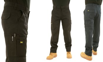 MIG Men's Cargo Work Trousers