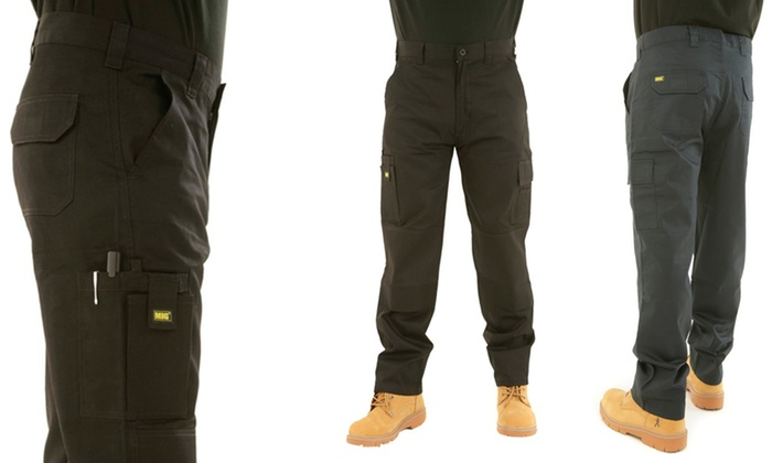 MIG – Mud Ice Gravel Men's Cargo Work Trousers from £10