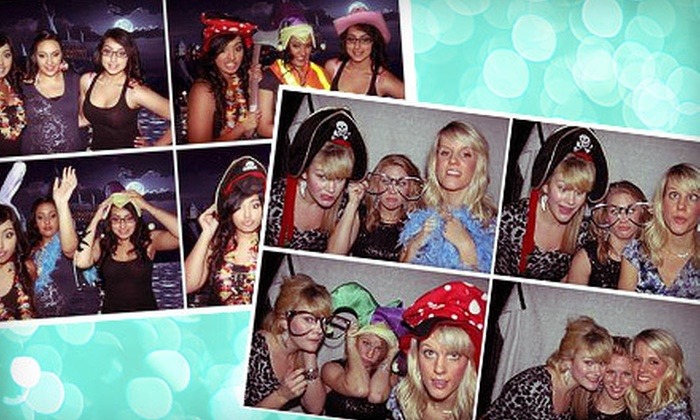 Flash Photo Booths - Modesto: Four-Hour Photo-Booth Rental Monday–Thursday or Friday–Sunday from Flash Photo Booths (Up to 69% Off)