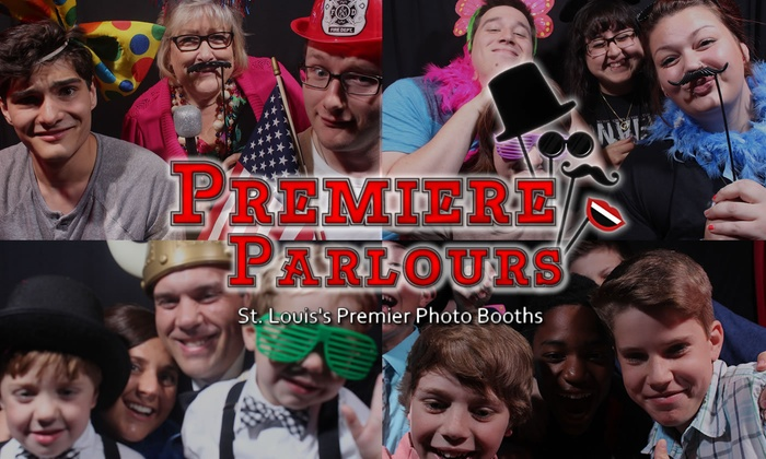 Premiere Parlours - St Louis: $299 for $598 Worth of Photo-Booth Rental — Premiere Parlours