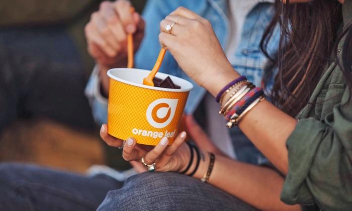 Orange Leaf Frozen Yogurt - Multiple Locations: Frozen Yogurt at Orange Leaf (40% Off). Two Options Available.