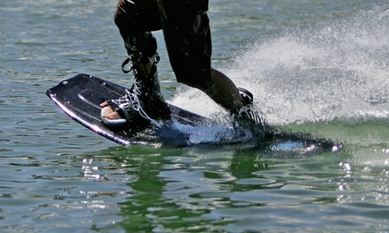 One-Hour Wakeboarding Package or One-Week Morning or Afternoon Kids' Camp at Wake Zone (Up to 51% Off)