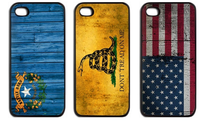 Distressed Flag Case for iPhone 4/4s or 5/5s: Distressed Flag Case for iPhone 4/4s or 5/5s. Multiple Styles Available. Free Returns.