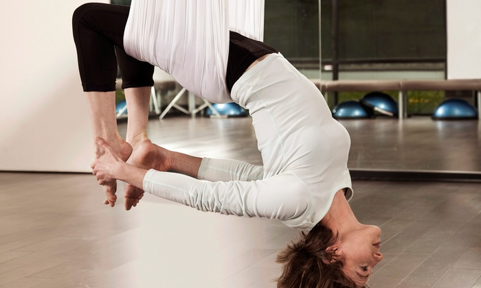 inShape Ladies Fitness - Southside/Mandarin: 5 or 10 Pole Fitness, Aerial Yoga, Aerial Fitness, or Aerial Dance Classes at inShape Ladies Fitness (Up to 70% Off)