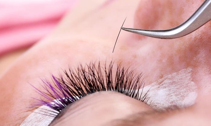 BeautyCall, LLC - BeautyCall, LLC: Full Set of Eyelashes with Optional Refill at BeautyCall, LLC (50% Off)