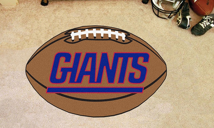 New York Giants Football Mat: New York Giants Football Mat