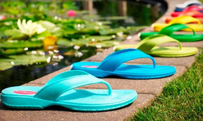 Okabashi: $15 for $30 Worth of 100% Recyclable Sandals from Okabashi