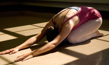 Five Yoga Classes or One or Two Months of Unlimited Yoga at Lotus One Yoga Studio (Up to 66% Off)