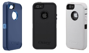 OtterBox Defender Series Case with Holster for iPhone 5/5s: OtterBox Defender Series Case with Holster for Apple iPhone 5/5s