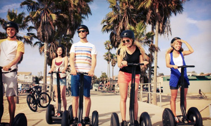 F.L.Y. Beach Sports - Ocean Vue: Segway Rental with Photo Package for One or Two at F.L.Y. Beach Sports (Up to 60% Off)