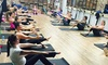 Barre Central - West Central Shopping Plaza: Three or Five Any Fitness Classes at Barre Central (Up to 61% Off)