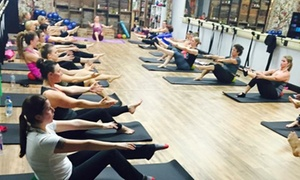 Barre Central: $99 for 12 Mix and Match Barre, Pilates Mat, and Yoga Classes at Barre Central ($240 Value)