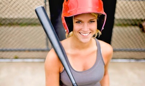 The Plex: 50-Token Punch Card for Batting Cages or Two Large Buckets of Driving-Range Balls at The Plex (Up to 50% Off)