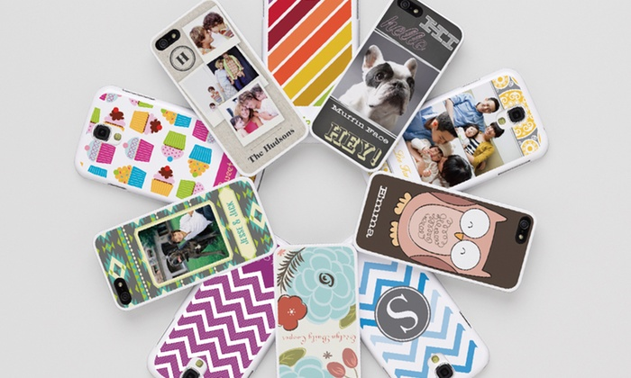 Custom iPhone or Samsung Galaxy Case: Lightweight or ProtectiveCustom iPhone or Samsung Galaxy Case from Vistaprint