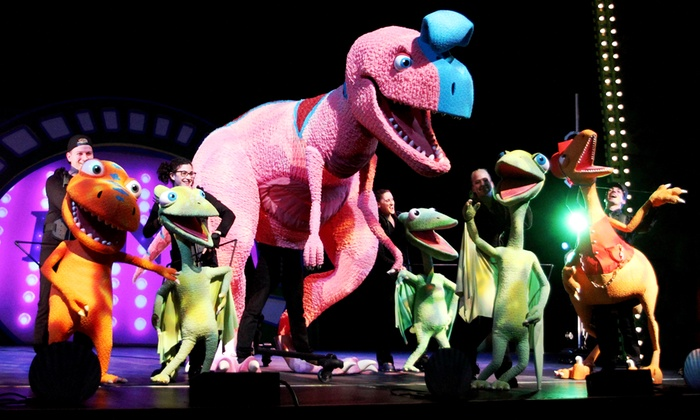 """Dinosaur Train Live"" - Salem Civic Center: Dinosaur Train Live at Salem Civic Center on February 12 at 10:30 a.m. or 7 p.m. (Up to 41% Off)"
