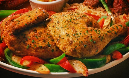 Chicken Meal with Sides and Drinks for Two or Four at Don Taco Villa (54% Off)