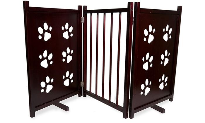 how to make a folding pet gate