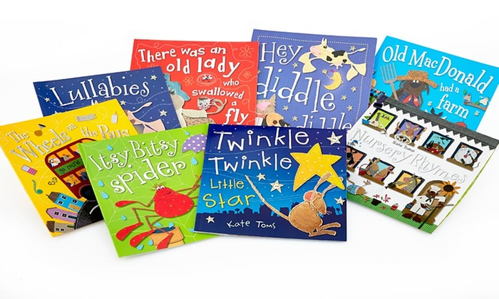 Castle Street Press Nursery-Rhyme Books: $21.99 for a Kate Toms 8-Book Nursery-Rhyme Storybook Set from Castle Street Press ($87.60 List Price)