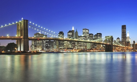 groupon daily deal - Stay at Tryp by Wyndham New York Times Square in Manhattan, with Dates into August
