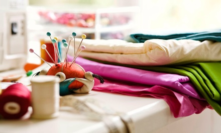 Three-Hour BYOB Sewing Class for One or Two at Design Sewing Studio (56% Off)