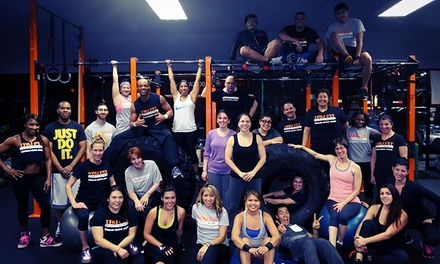 10 Drop-in or One Month Unlimited Boot-Camp Classes at Tru Fit Bootcamp (Up to 81% Off)