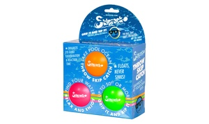 Skiprock Extreme Water-Bouncing Ball (1-, 2-, or 3-Pack)