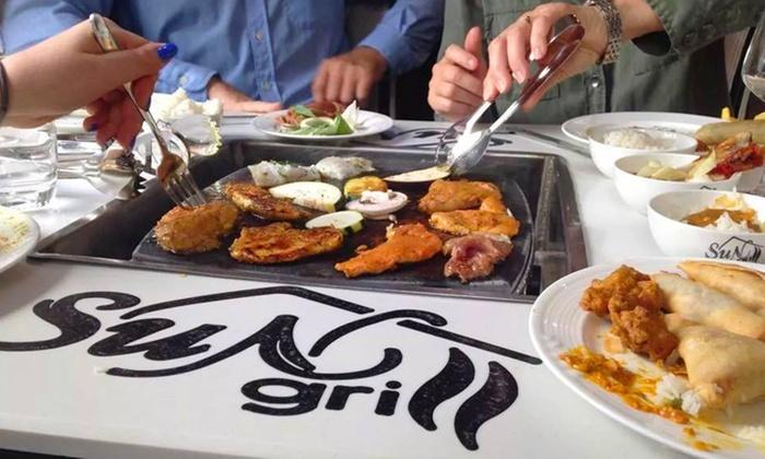 Restaurant le Sun Grill - Vendenheim: Buffet indien à volonté pour 2 personnes à 29,90 € au restaurant le Sun Grill