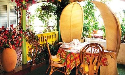 Menu créole pour 2 personnes à 34,90 € au restaurant La Cannelle