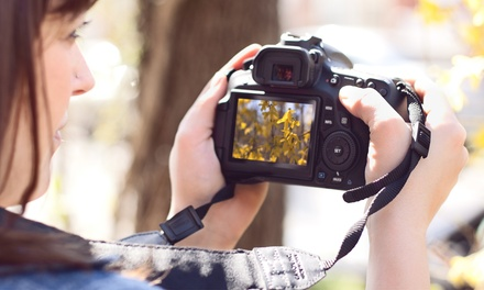 $40 for a Three-Hour Manual Photography Workshop at In Focus Learning Center ($125 Value)