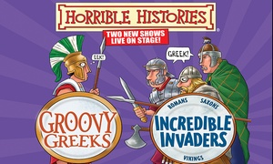 Churchill Theatre: Ticket to Horrible Histories: Groovy Greeks or Incredible Invaders at Churchill Theatre, 31 May - 4 June (Up to 32% Off)
