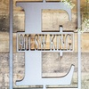 Up to 60% Off Metal Monogram Signs