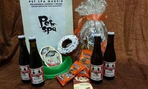 Petspa: Cesta con regalos para perros desde 10 € y para gatos por 12 €