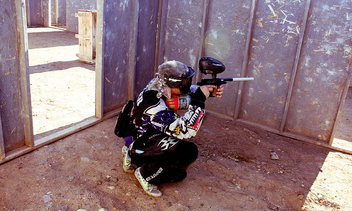 Fightertown Paintball Park - El Mirage: Paintball Outing with Rental Packages for One or Two at Fightertown Paintball Park (Up to 52% Off)