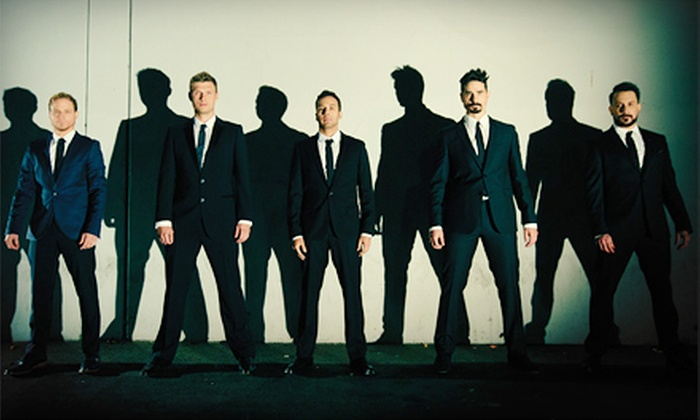 Backstreet Boys - PNC Music Pavilion: Backstreet Boys Concert at Verizon Wireless Amphitheatre Charlotte on August 21 at 7 pm. (Up to 65% Off)