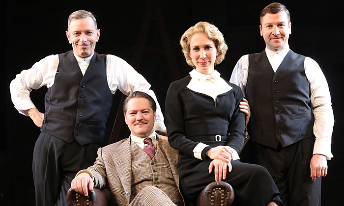 """39 Steps - Union Square Theatre: """"39 Steps"""" Theatrical Comedy (September 9—January 3)"""
