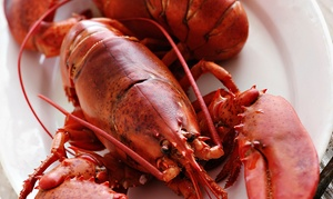 Lobster Express: Lobster Bake for Two or Four at Lobster Express (45% Off)
