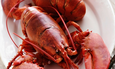 Dinner for Two or Four with Magic-Show Option at Lobster House Seafood Buffet Restaurant (Up to 62% Off)