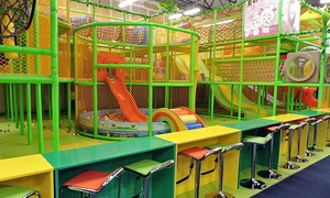 FunVille Indoor Playground: Two, Three, or Four Groupons, Each Good for Playground Admission at FunVille Indoor Playground (38% Off)