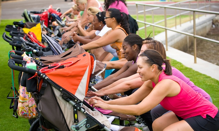 FIT4MOM  - Multiple Locations: 10 Stroller Strides Classes or a Month of Unlimited Stroller Strides Classes at FIT4MOM (Up to 55% Off)