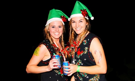 $26 for an Ugly Sweater Bar Crawl from The Beer Crawl on Saturday, December 6 ($40 Value)