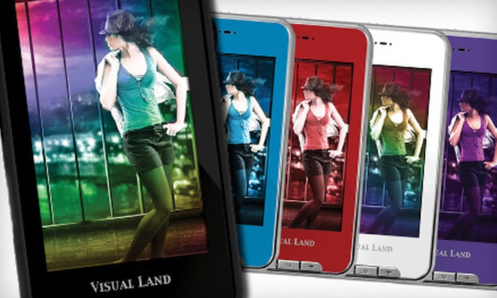$35 for a Visual Land V-Touch Pro 4GB Video MP3 Player with Built-In FM Radio ($149 Value). Shipping Included.