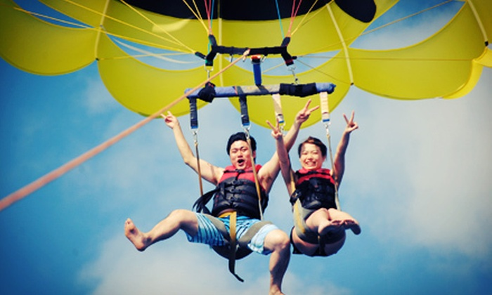 Seabreeze Water Sports - Hawaii Kai Shopping Center: $59 for a Standard Tandem Parasailing Ride from Seabreeze Water Sports ($118 Value)
