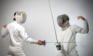 Salle d'Etroit: One, Three, or Five Beginning Fencing Classes at Salle d'Etroit Fencing Academy (Up to 56% Off)