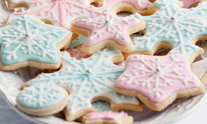 Cookies by Design - Collier: Half-Dozen Large Groupon Fifth-Birthday Cookies or $25 for $40 Worth of Cookies and Treats at Cookies by Design