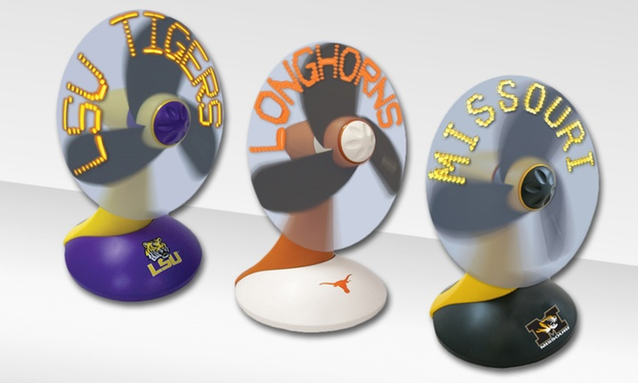 NCAA Message Desktop Fans: $24.99 for an NCAA Message Desktop Fan ($49.99 List Price). Free Shipping and Returns.