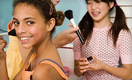 Spa Party or Deluxe Spa Party for Kids from A Girl's Place (Up to Half Off)